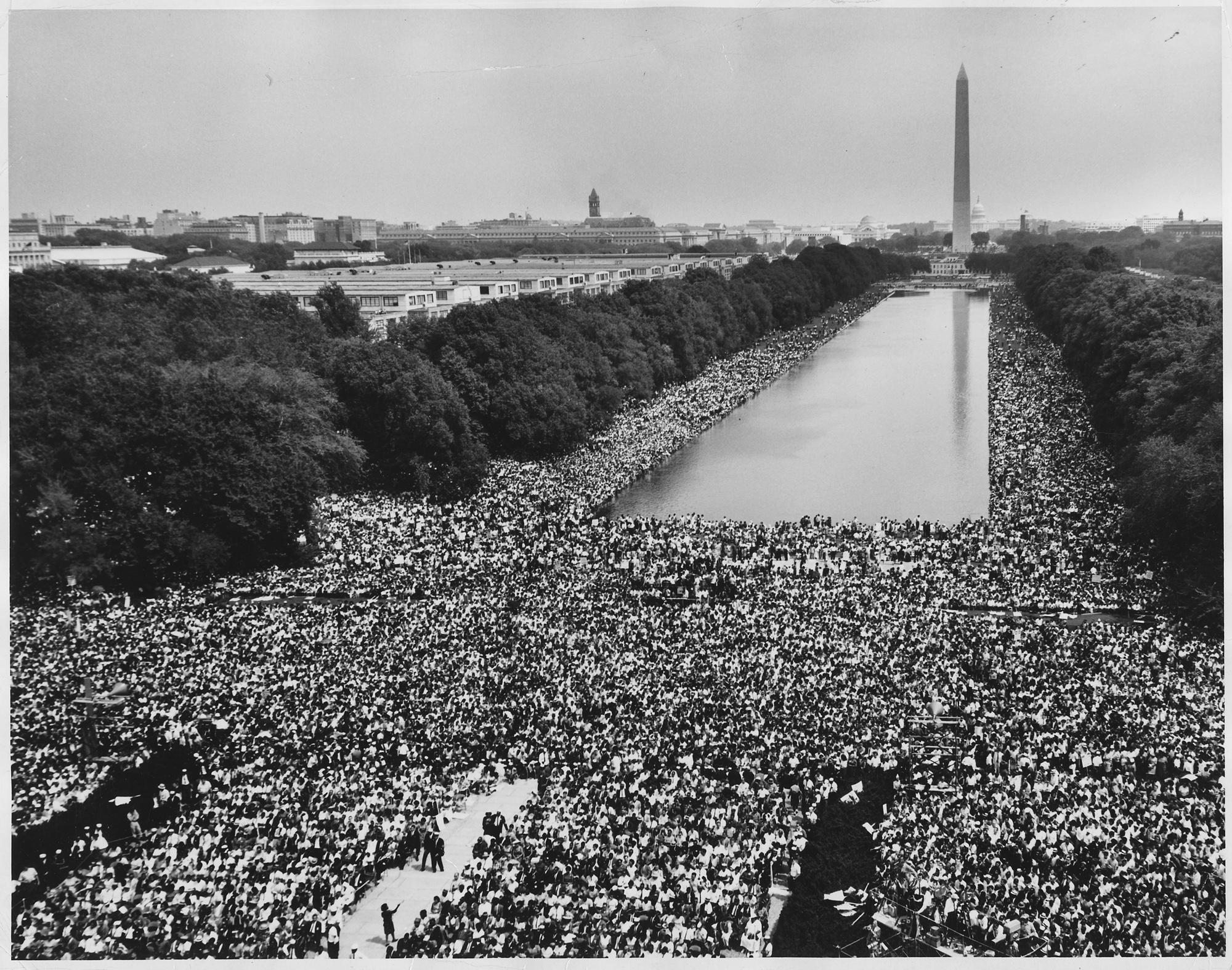 image of March on Washington 1963