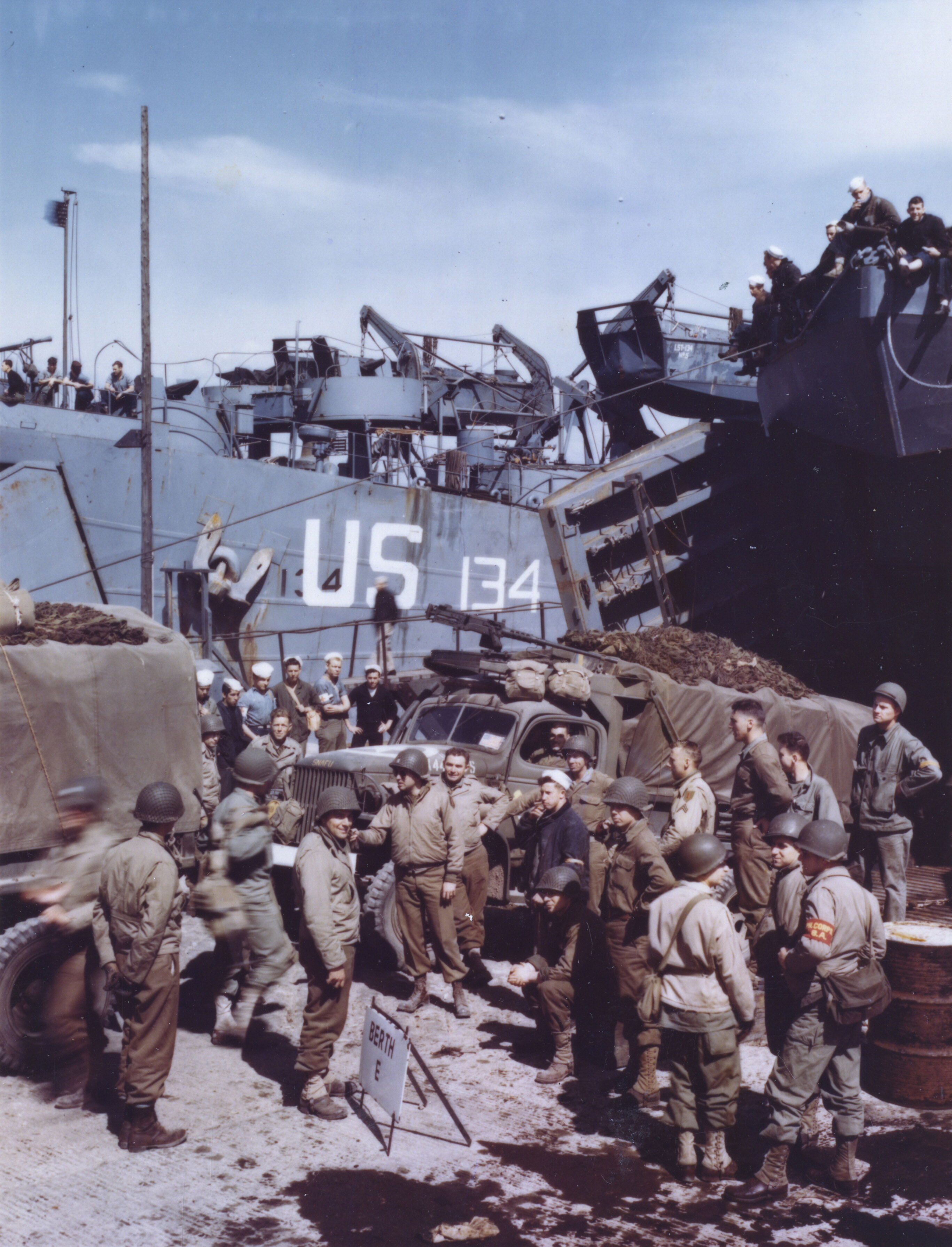 D Day In Color Images of the Week: D-...