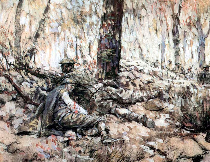 World War I Art And Combat Artists The Unwritten Record