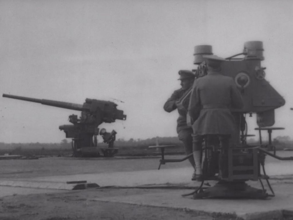 This three inch A.A. gun fired up to 22 shots a minute and had a range of four miles.