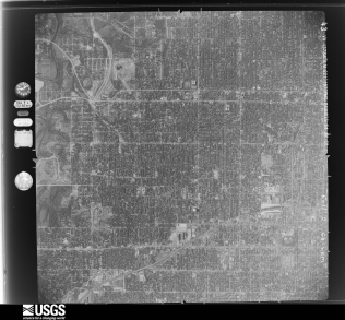 Municipal Stadium Kansas City 1955