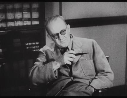 John Ford appears as an undercover agent posing as a lawyer in Undercover, a film he made for the Office of Strategic Services.
