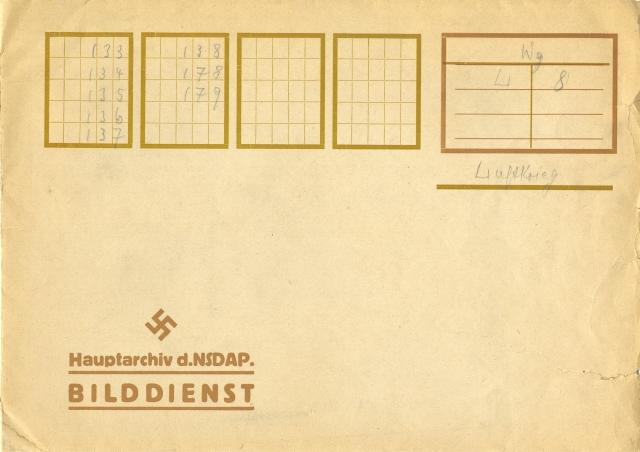 Negative Jacket from Nazi Archives, 242-NA