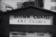 Brown Chapel A.M.E. Church, headquarters of the Selma Voting Rights Movement.