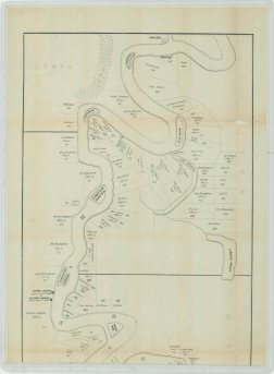 Map of Portions of Desha and Chicot Counties, Arkansas, and Washington and Bolivar Counties, Mississippi, Skipwith District. Part 2