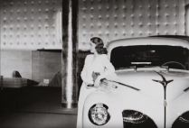 """The Ford style show, combining """"the latest in fashions with the newest in motorcar design."""""""