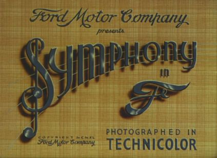 "A symphony in the key of F--the F stands for ""Ford."""