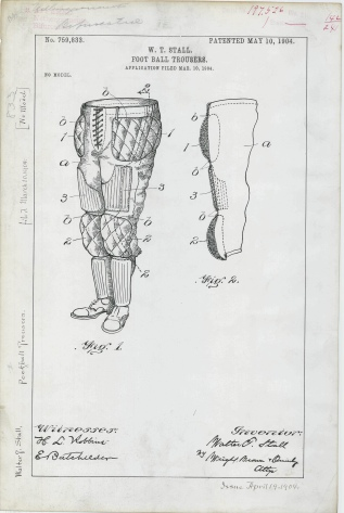 W. T. Stall's Football Trousers https://catalog.archives.gov/id/6104276