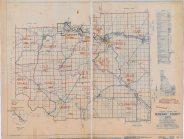 1950 Census E.D. Map Benewah County, Idaho