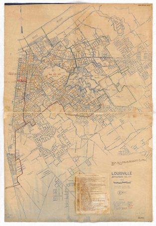 1950 Census E.D. Map Louisville page 1