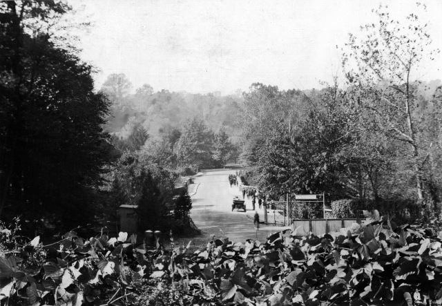 Photograph of the East Entrance of National Zoo in Washington, D.C., 1919. Local ID: 30-N-21003