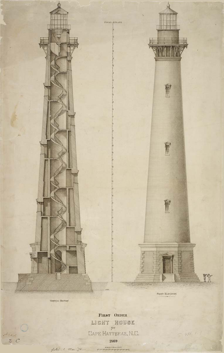 Lighthouse drawings in celebration of national lighthouse for Lighthouse house plans