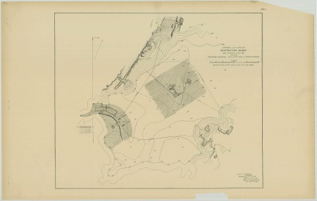 RG26: Lighthouse Plans; WA, Destruction Island; #1. Plan for proposed light station, 1887.