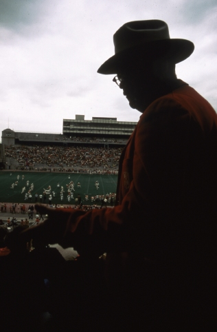 Spring football game at the University of Nebraska. May 1973. Local ID: 412-DA-4827
