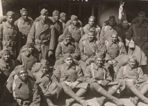 Soldiers from Philadelphia who were either wounded in combat or gassed return home on the Giuseppe Verdi. Local Identifier, 165-WW-127-83.