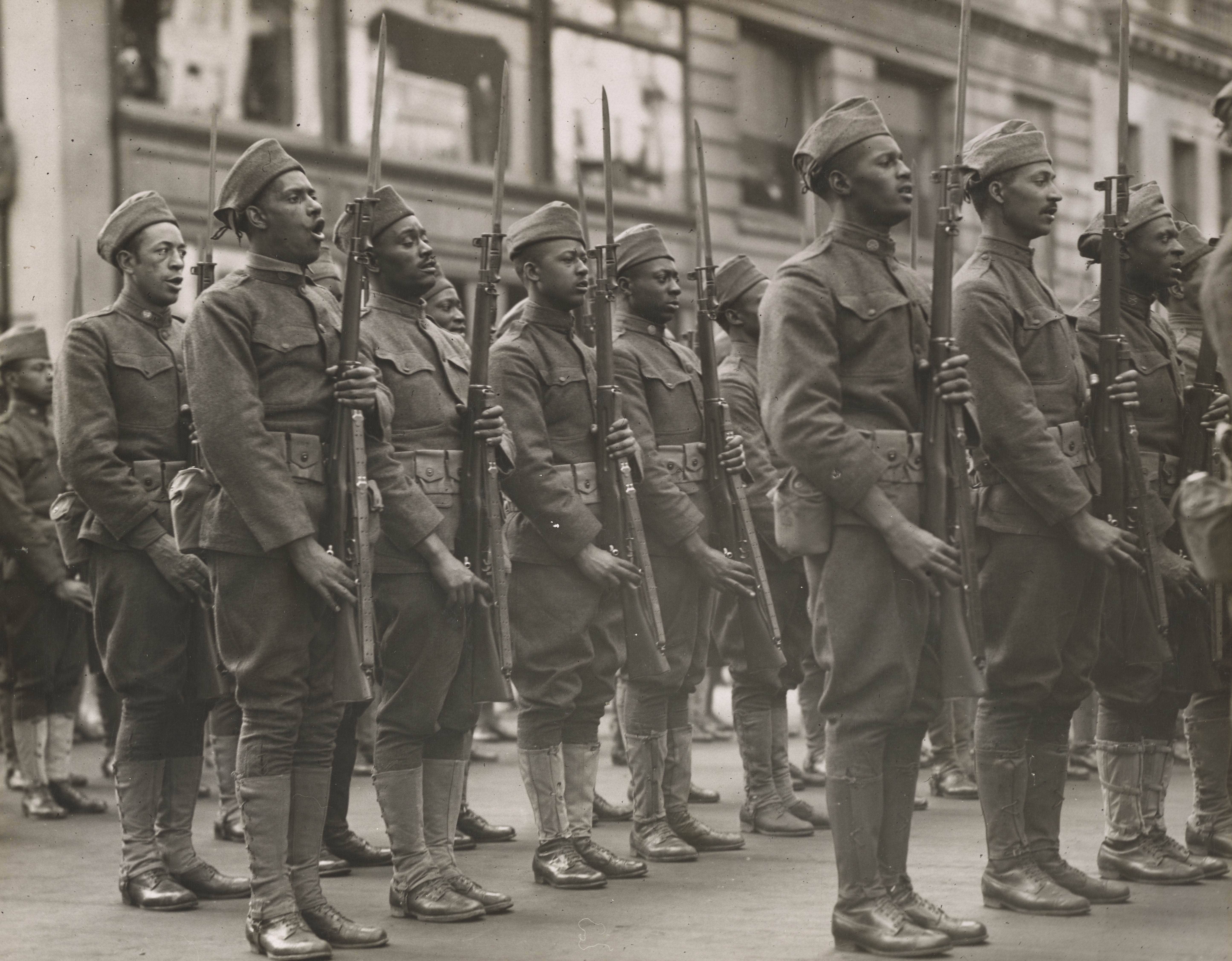 A Brief Look at African American Soldiers in the Great War ...