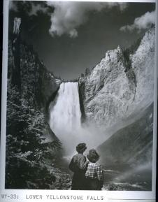 Lower Yellowstone Falls. 377-C-33