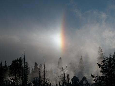 Steam and Sundogs West Thumb Geyser Basin, Yellowstone National Park (Local Identifier: 412-EPD-mediaPSA003d.jpg)
