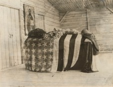 165-WW-176D-18: Funeral - Military - American - FUNERAL OF THE FIRST AMERICAN KILLED SINCE THE DECLARATION OF WAR BY THE U.S