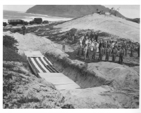 80-G-32853: Photograph of Funeral Services for 15 Officers and Men at NAS Kaneohe