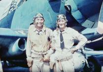 Lt. Commander Charles Waldron and Chief Radioman Horace Franklin Dobbs