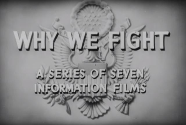 Why We Fight Title Page