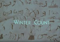 Title card from Winter Count, by Stephen Rivkin.